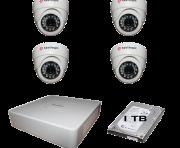 Kit Dvr HD 08 Canais 1080p com acesso pelo celular + 06 Câmeras + HD 01TB